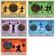 Ref. 40096 * NEW *  - TRINIDAD AND TOBAGO . 1972. GAMES OF THE XX OLYMPIAD. MUNICH 1972. 20 JUEGOS OLIMPICOS VERANO MUNI - Trinidad Y Tobago (1962-...)