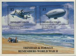 Ref. 40954 * NEW *  - TRINIDAD AND TOBAGO . 1996. 50th ANNIVERSARY OF THE SECOND WORLD WAR. 50 ANIVERSARIO DE LA SEGUNDA - Trinidad Y Tobago (1962-...)