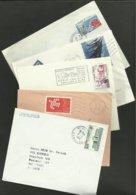 Lot De 5 Enveloppes - France