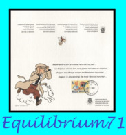 1944° - Tintin (Hergé) - Carte Souvenir Diplomatique Belge - Oblitération Boom 12/12/2012 - Philabédés (comics)