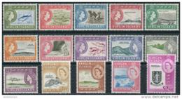 Virgin Islands 1964. Michel #140/54 - MLH/Luxe. QEII. Country-specific Motifs. (Ts04) - Britse Maagdeneilanden