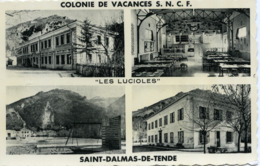 St Dalmas De Tende Colonie De Vacances SNCF Les Lucioles - Autres Communes