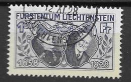 1928 USED Liechtenstein Michel 86 - Liechtenstein