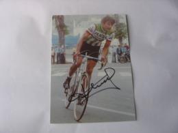 Cyclisme - Autographe - Carte  Signée Bernard Thévenet - Cyclisme