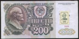 Transnistria 200 Ruble 1991/94 Pick 8 Fine - Moldavië