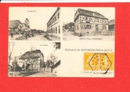 68 STEINBRUNN Le HAUT Cpa Multivues Souvenir    Edit Kanitzer - Other Municipalities