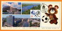ROUMANIE        JO 1980  FOOTBALL      Référence N° 5358 - Football