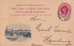 CAPE OF GOOD HOPE 1908     ENTIER POSTAL/GANZSACHE/POSTAL STATIONERY CARTE ILLUSTREE DE CAPE TOWN - África Del Sur (...-1961)