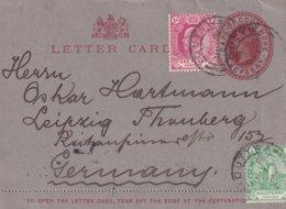 CAPE OF GOOD HOPE 1904     ENTIER POSTAL/GANZSACHE/POSTAL STATIONERY CARTE-LETTRE POUR LEIPZIG - África Del Sur (...-1961)