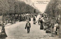 1749Rochefort Perspective -de La Rue De L'Arsenal7Circulée 1905 - Rochefort