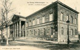 B59694 Cpa Le Puy - Le Palais De Justice - France