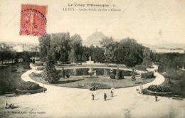B59706 Cpa Le Puy -  Jardin Public - France