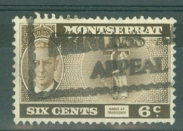Montserrat: 1951   KGVI   SG128    6c    Used - Montserrat
