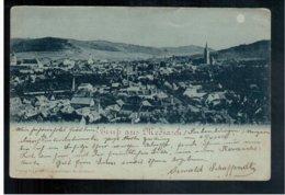 ROMANIA  Gruss Aus Mediasch 1898 Old Postcard - Rumania