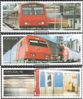 Portugal 2046-2048 (complete Issue) Unmounted Mint / Never Hinged 1994 Rail - 1910-... Republic