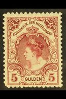 1899-1910  5g Lake Queen Perf 11x11½ (SG 196c, NVPH 79C, Michel 65 C), Fine Mint, Good Centering, Very Fresh. For More I - Netherlands
