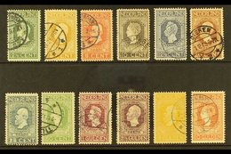 1913  Centenary Of Independence Complete Set (NVPH 90/101, SG 214/25, Michel 81/92), Very Fine Cds Used, Fresh & Attract - Netherlands