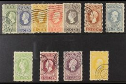 1913  Centenary Set Complete To 5g, SG 214/224, Good Used, Top Four 50c To 5g Values Fine With Neat Cds Cancels. (11 Sta - Netherlands