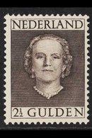 1949  2½g Brown Juliana, SG 699, Very Fine Mint. For More Images, Please Visit Http://www.sandafayre.com/itemdetails.asp - Netherlands
