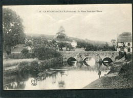 CPA - LA ROCHE MAURICE - Le Vieux Pont Sur L'Elorn, Animé - La Roche-Maurice