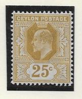 Ceylon 1904, SG 284 MH - Ceylon (...-1947)