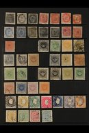 PORTUGUESE INDIA  1871-1933 Mint And Used Collection On Stockleaves. With Much Of Interest - Can See 1871-1883 Early Typ - Colonias Portuguesas Y Dependencias - Sin Clasificación