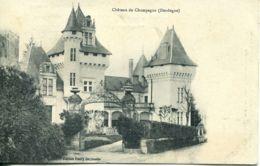 N°76109 -cpa Château De Champagne - France