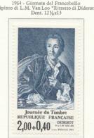 """PIA - FRA - 1984 : Giornata Del Francobollo - Dipinto Di L.M. Van Loo : """"Ritratto Di Diderot""""  - (Yv 2304) - Giornata Del Francobollo"""
