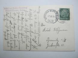 1939 , KÖTSCHACH - MAUTHEN - Villach , Klarer Bahnpost- Stempel Auf Karte - Briefe U. Dokumente