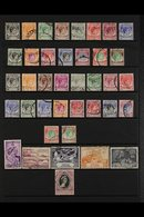 1948-91 USED COLLECTION  A Most Useful, Used Collection Collection That Includes Both KGVI Perf Sets, 1955-59 Pictorial  - Singapur (...-1959)