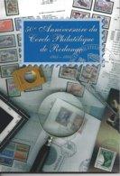 Livre De144 Pages 50ème Anniversaire Du Cercle Philatélique De Rodange - Rodange