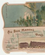 Au Bon Marché, Carte à Système Suisse - Publicités