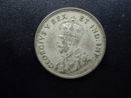 AFRIQUE DE L'EST ANGLAIS : 1 SHILLING   1924    KM 21      TTB - Colonia Britannica