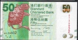 HONG-KONG P298c 50 DOLLARS 1.1.2013 #AX   UNC. - Hong Kong