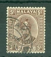 Malaya - Pahang: 1935/41   Sultan Abu Bakar    SG33     5c   Used - Pahang