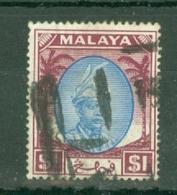 Malaya - Pahang: 1950/56   Sultan Abu Bakar    SG71     $1       Used - Pahang