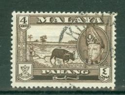 Malaya - Pahang: 1957/62   Sultan Abu Bakar - Pictorial    SG77      4c       Used - Pahang