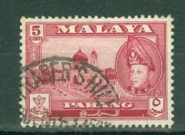 Malaya - Pahang: 1957/62   Sultan Abu Bakar - Pictorial    SG78      5c       Used - Pahang