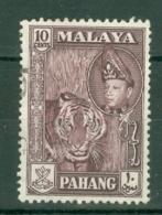 Malaya - Pahang: 1957/62   Sultan Abu Bakar - Pictorial    SG81      10c   Deep Maroon    Used - Pahang