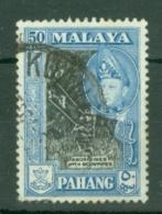 Malaya - Pahang: 1957/62   Sultan Abu Bakar - Pictorial    SG83a      50c   [Perf: 12½ X 13]   Used - Pahang