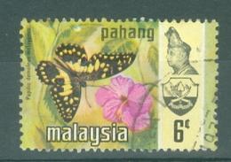 Malaya - Pahang: 1971   Butterflies   SG99      6c   Used - Pahang
