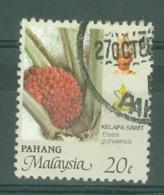 Malaya - Pahang: 1986/96   Oil Palm  SG130   20c     Used - Pahang