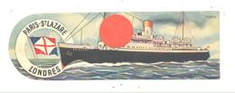 Marque-pages Publicitaire - Paris St Lazare  - Londres - Bateau, Ferries ... (b260/4 ) - Marque-Pages