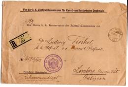 Registered Vienna Wien Wafer 1913 - 1850-1918 Imperium