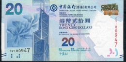 HONG-KONG P341c 20 DOLLARS 1.1.2013 #CV      UNC. - Hong Kong