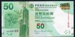 HONG-KONG P342b 50 DOLLARS 1.1.2013 #AP     UNC. - Hong Kong