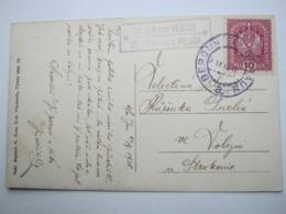 1918 , ST.JOHANN U.D. FELSEN, Klarer Stempel Auf Karte - Briefe U. Dokumente