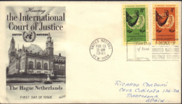 Ref. 440946 * NEW *  - UNITED NATIONS. New York . 1961. INTERNATIONAL JUSTICE COURT AT THE HAGUE. TRIBUNAL INTERNACIONAL - New-York - Siège De L'ONU
