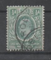 East Africa And Uganda, 1904,  Used, Michel 17 - Kenya, Uganda & Tanganyika