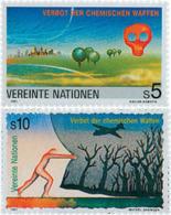Ref. 56462 * NEW *  - UNITED NATIONS. Vienna . 1991. BANNING OF CHEMICAL WEAPONS. PROHIBICION PARA LA UTILIZACION DE ARM - Vienna - Oficina De Las Naciones Unidas